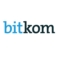 shows the company logo of bitkom