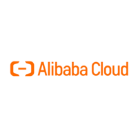 shows the company logo of Alibaba Cloud